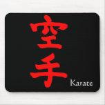 karate tapetes de ratones