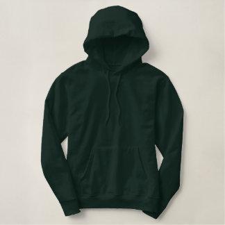 Karate Teacher Custom Name Embroidered Green Embroidered Hoodie