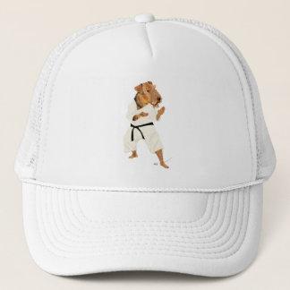 Karate Terrier Trucker Hat