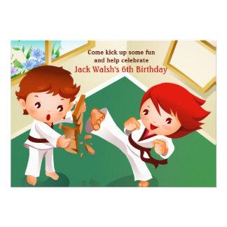 Karate Tots Invitation