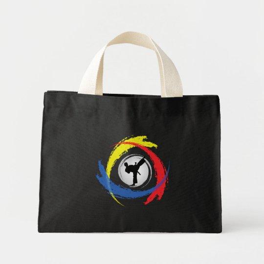 Karate Tricolor Emblem Mini Tote Bag