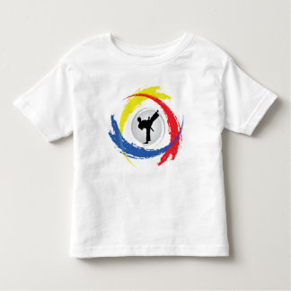 Karate Tricolor Emblem Toddler T-shirt