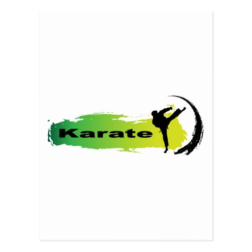 Karate único postal