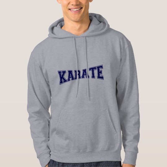 Karate University Style Hoodie