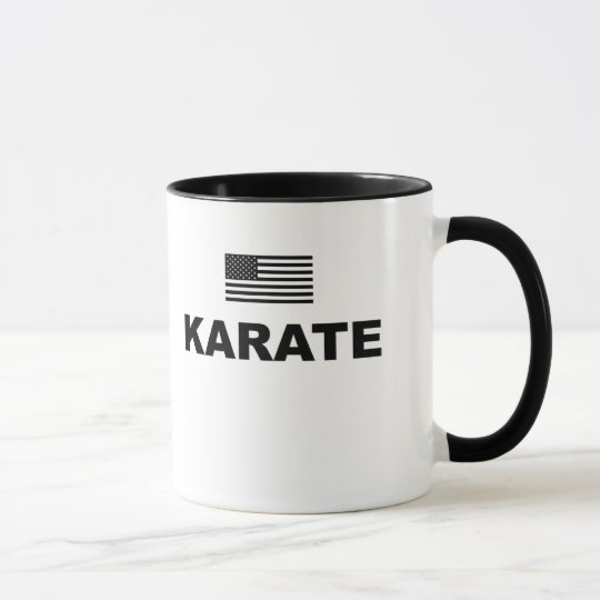 Karate USA Ringer Mug