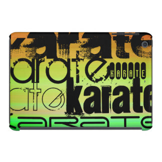 Karate; Vibrant Green, Orange, & Yellow iPad Mini Case