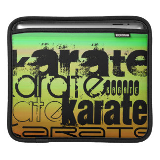 Karate; Vibrant Green, Orange, & Yellow Sleeve For iPads