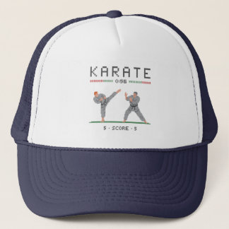 Karate Video Game Trucker Hat