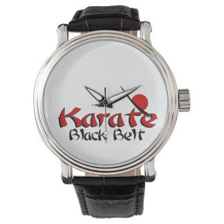 karate wrist watch