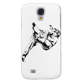 Karate y un judo. Técnicas de tiros Funda Para Galaxy S4
