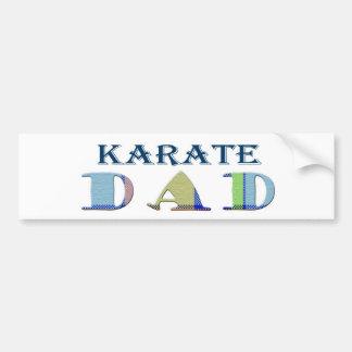 KarateDad Bumper Sticker