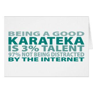 Karateka 3% Talent Card