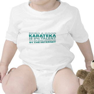 Karateka 3% Talent Romper