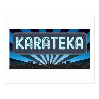 Karateka Marquee Postcard
