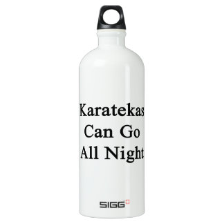 Karatekas Can Go All Night SIGG Traveler 1.0L Water Bottle