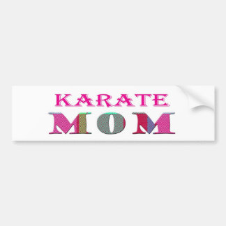 KarateMom Car Bumper Sticker