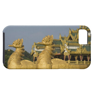 Karaweik Hall is a landmark of Yangon, locating iPhone SE/5/5s Case