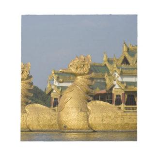 Karaweik Hall is a landmark of Yangon, locating Notepad