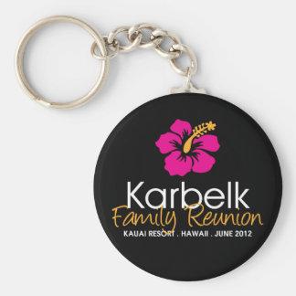 Karbelk Family Reunion, Ladies Hibiscus Keychain