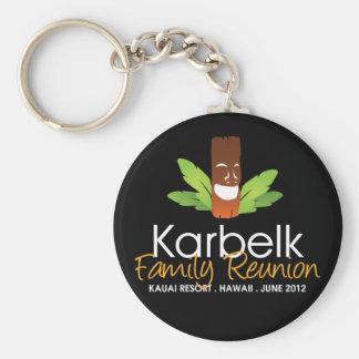 Karbelk Family Reunion, Men's Tiki Keychain
