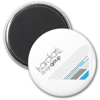 Kardia Design Group 2 Inch Round Magnet