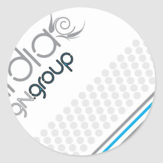Kardia Design Group Classic Round Sticker