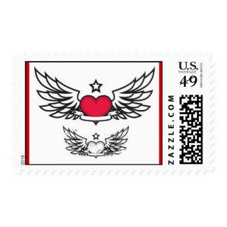kardia_me_ftera sellos postales