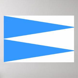 Kareda Vald, Estonia flag Poster