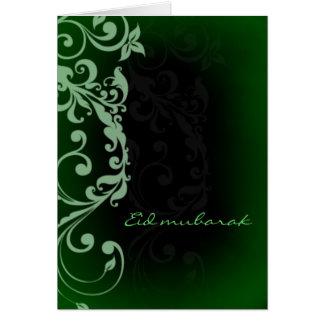 Kareem de Eid Mubarak - del Ramadán - saludo Tarjeta De Felicitación