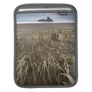 Karekare Beach | Panatahi Island, West Coast Sleeve For iPads