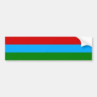Karelia Flag Bumper Sticker