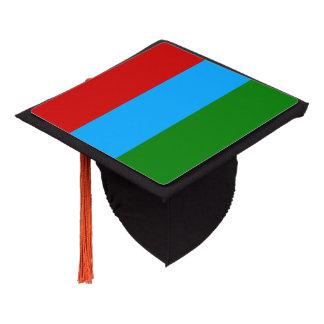 Karelia Flag Graduation Cap Topper