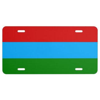 Karelia Flag License Plate