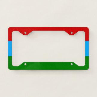 Karelia Flag License Plate Frame
