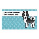 Karelian Bear Dog Cartoon Double-Sided Standard Business Cards (Pack Of 100)