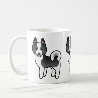 Karelian Bear Dog Cartoon Coffee Mug