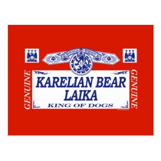 Karelian Bear Laika Postcard