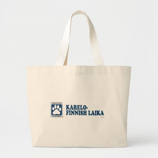 Karelo-Finnish Laika Blue Bag