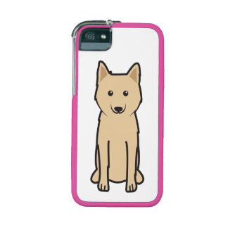 Karelo-Finnish Laika Dog Cartoon Case For iPhone 5/5S