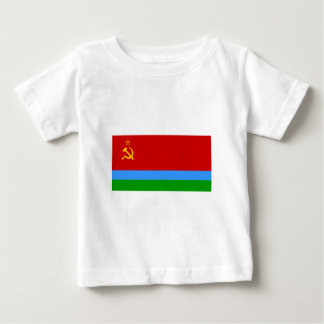 Karelo-Finnish SSR Flag Baby T-Shirt