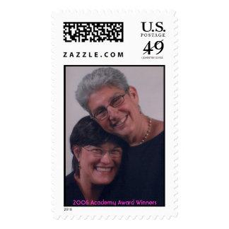 Karen and me, 2006 Academy Award Winners Postage Stamp