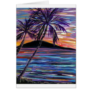 karen H's sunset Greeting Cards