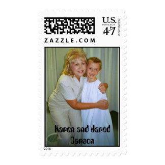karen jared baptism, Karen and Jared Carson Postage Stamp