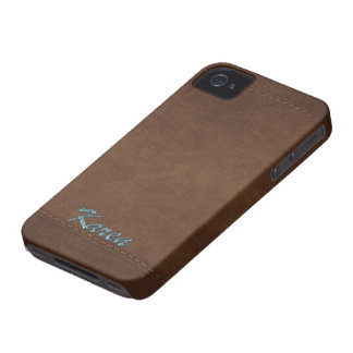 KAREN Leather-look Customised Phone Case
