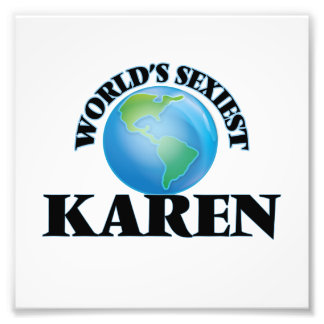 Karen más atractiva del mundo foto