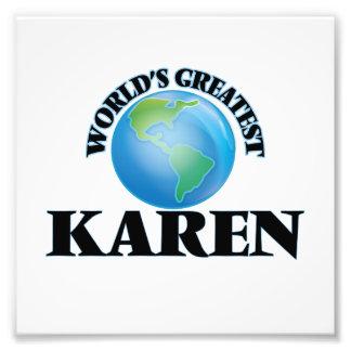 Karen más grande del mundo fotografías