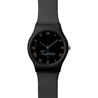 KAREN Name-Branded Customizable Wrist Watch Gift