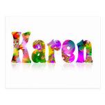 Karen Post Card