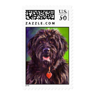 Karen Reed's Maggie Has a Heart Postage