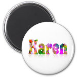 Karen Refrigerator Magnets